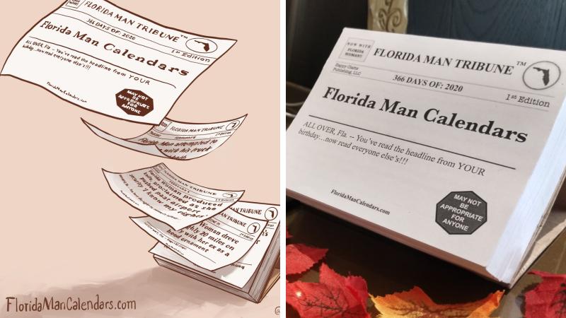 Florida Man C2020 Calendar